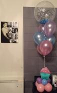 7 Balloons cupcake $35ea